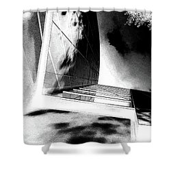 Dark City Shower Curtain