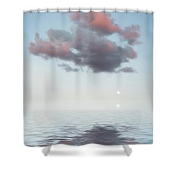 Dark Cloud Shower Curtain by Jerry McElroy
