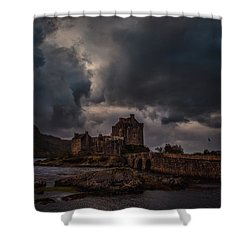 Shower Curtain featuring the photograph Dark Clouds #h2 by Leif Sohlman