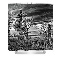 Shower Curtain featuring the photograph Dark Days by Brian Wallace