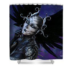 Dark Gaze Shower Curtain