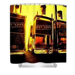 Dark Horse Distillery Shower Curtain
