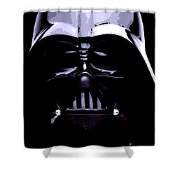 Dark Side Shower Curtain by George Pedro