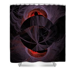 Dark Side Of The Moon Shower Curtain