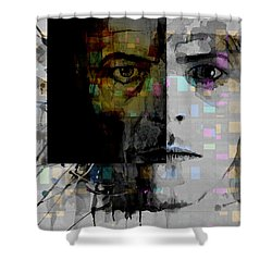 Dark Star Shower Curtain by Paul Lovering