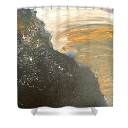 Dark Storm Shower Curtain by Barbara Yearty