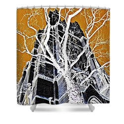 Dark Tower Shower Curtain by Sarah Loft