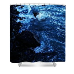 Dark Water Shower Curtain