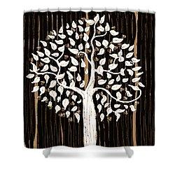 Dark Winter Shower Curtain by Patricia Arroyo