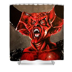 Darkness Shower Curtain by Tom Carlton