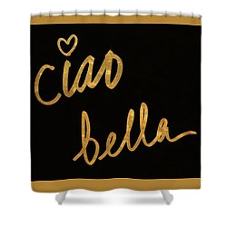 Darling Bella II Shower Curtain by South Social Studio