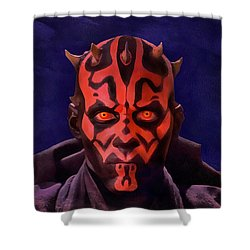 Darth Maul Dark Lord Of The Sith Shower Curtain
