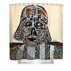 Darth Vader Star Wars Afrofuturist Collection Shower Curtain