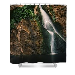 Darwin Falls - Death Valley Shower Curtain