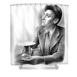 Daryl M. Chapin Shower Curtain