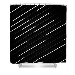 Dashed No. 1-1 Shower Curtain