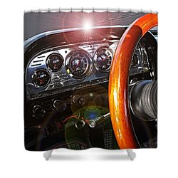 Dashing Shower Curtain by David and Lynn Keller