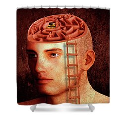 Data Analysis Shower Curtain