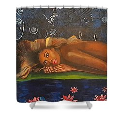 Daughter Of The Cosmos Shower Curtain