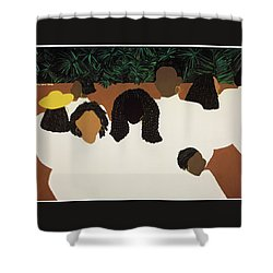Daughters Shower Curtain