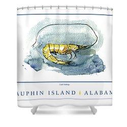 Dauphin Island, Alabama Shower Curtain