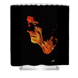 Dave Shower Curtain
