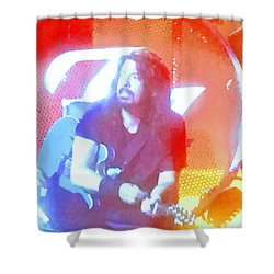 Dave Grohl In Concert Shower Curtain