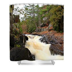 Dave's Falls #7277 Shower Curtain