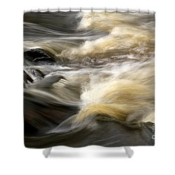 Shower Curtain featuring the photograph Dave's Falls #7431 by Mark J Seefeldt