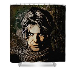David 5 Shower Curtain