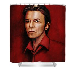 David 6 Shower Curtain
