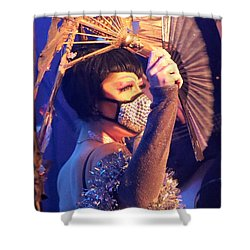 David Bowie 5th Annual Birthday Bash Shower Curtain