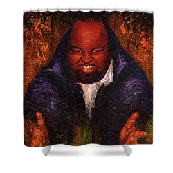 David C. Hayes Shower Curtain by Sean Seal