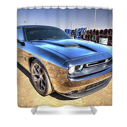 David D Brother Shower Curtain
