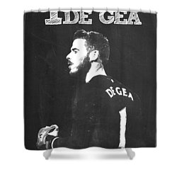 David De Gea Shower Curtain