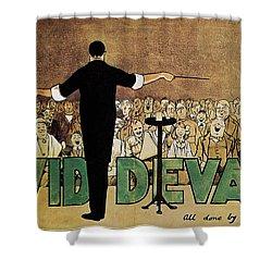 David Devant Poster C1910 Shower Curtain by Granger