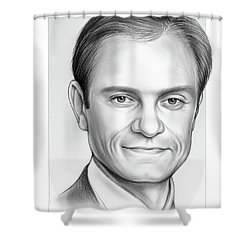 David Hyde Pierce Shower Curtain
