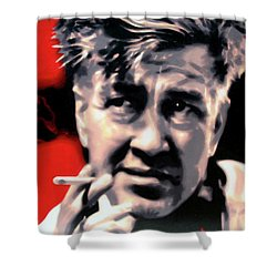 David Lynch Shower Curtain