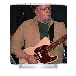 Shower Curtain featuring the photograph David Nelson by Susan Carella