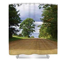 Davis Hill Rd. Shower Curtain