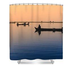 Dawn, Amarapura Shower Curtain