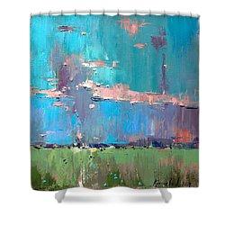 Dawn Shower Curtain by Anastasija Kraineva