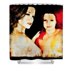 Dawn And Ryli 1 Shower Curtain