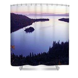 Dawn At Emerald Bay, Lake Tahoe Shower Curtain
