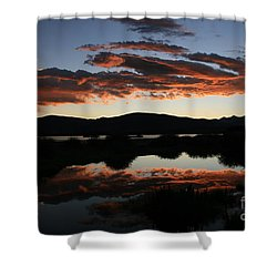 Dawn At Lake Dillon Shower Curtain