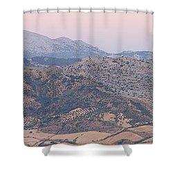 Dawn At Mirador De Ronda Shower Curtain