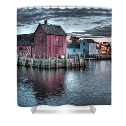 Dawn At Motif Number 1 Shower Curtain