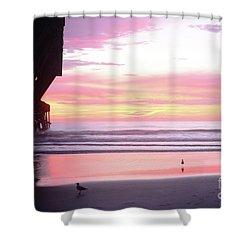 Dawn At The Beach 8-14-16 Shower Curtain
