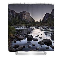 Dawn At Yosemite Gate Shower Curtain