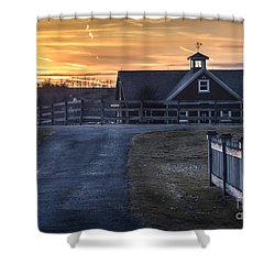 Dawn Breaking Shower Curtain